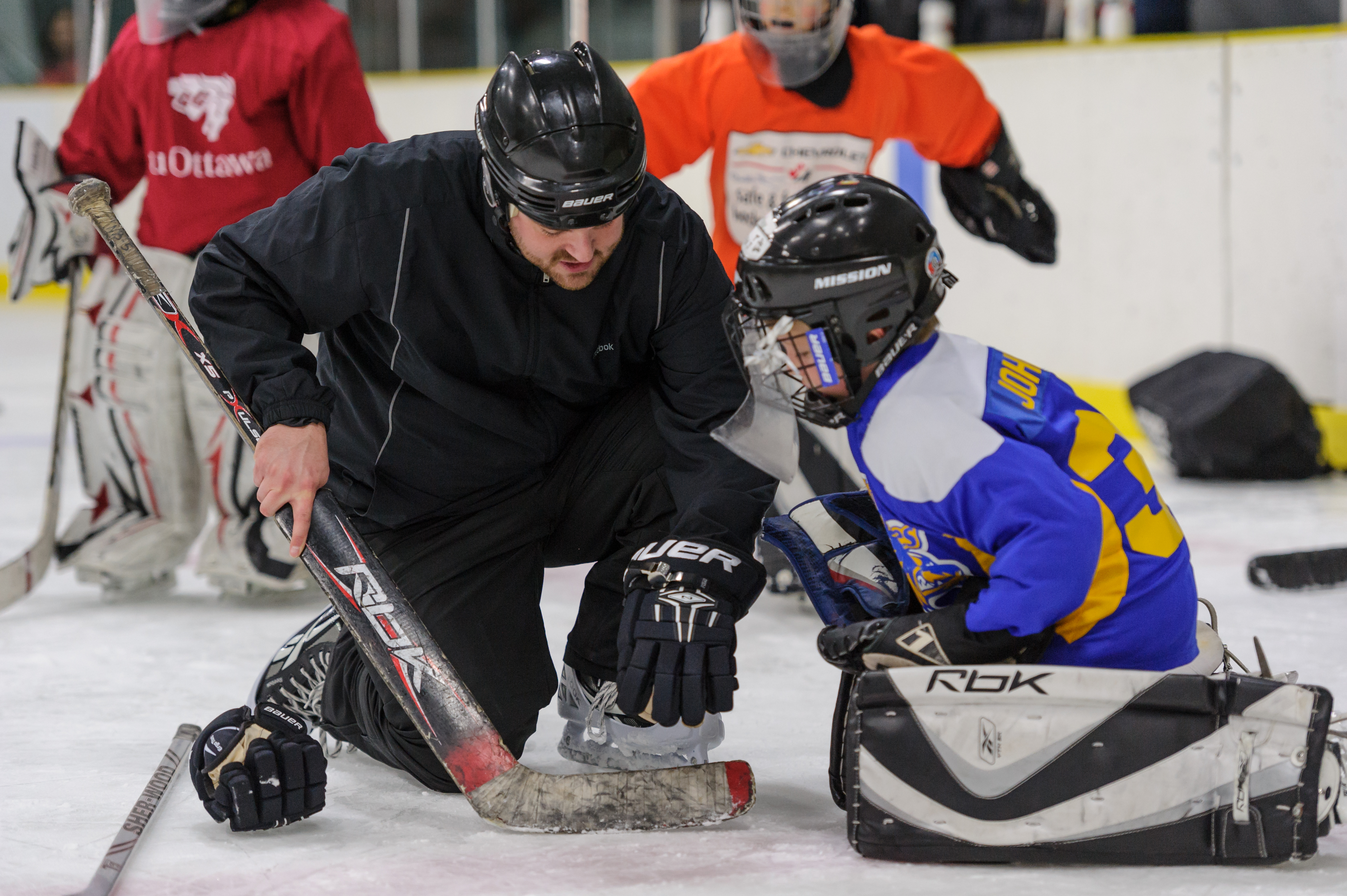 So Your Kid Wants To Be A Goalie Gaahockey Elite Ottawa Goalie