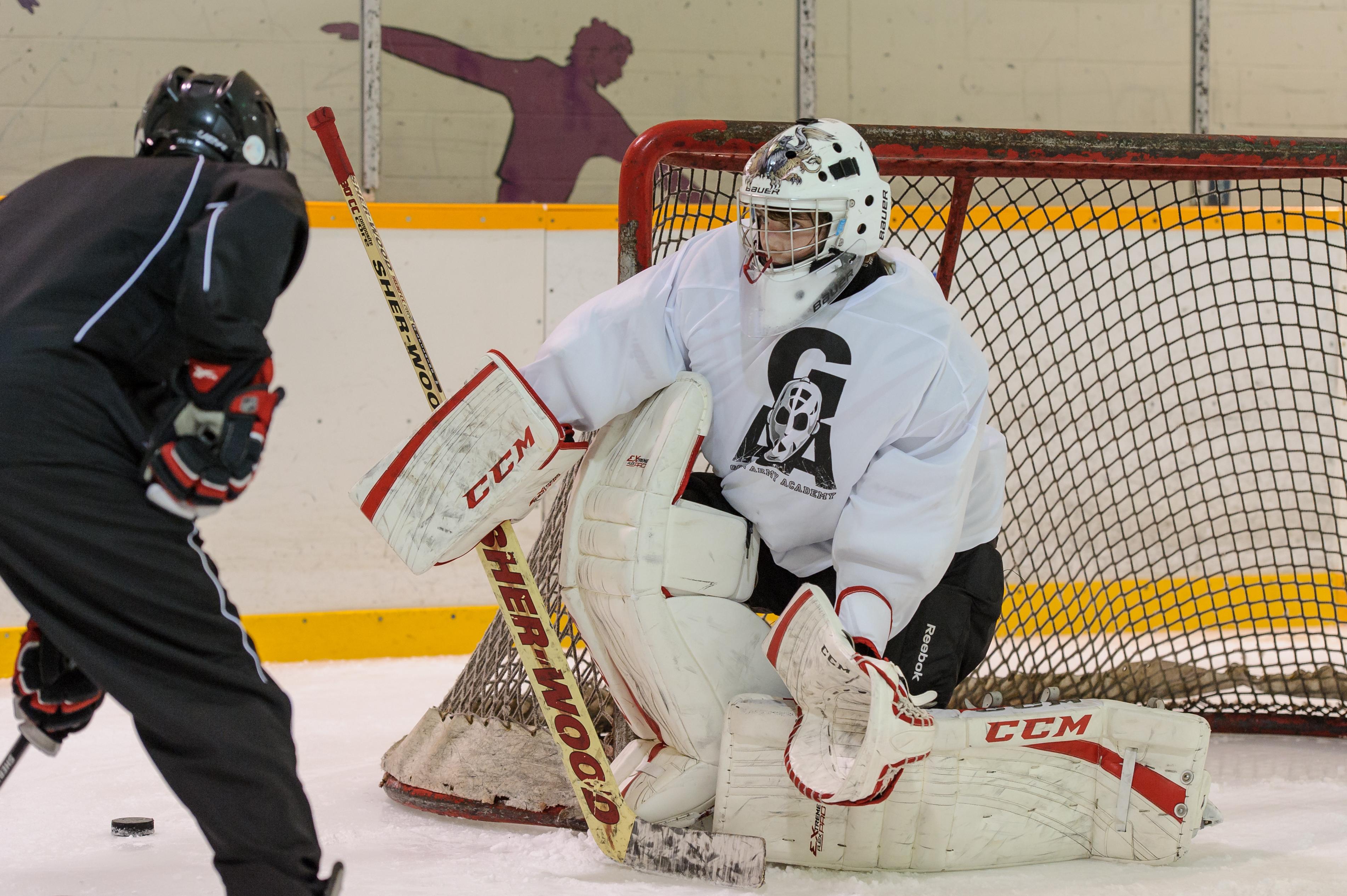 Vh Vs Rvh Gaahockey Elite Ottawa Goalie Training