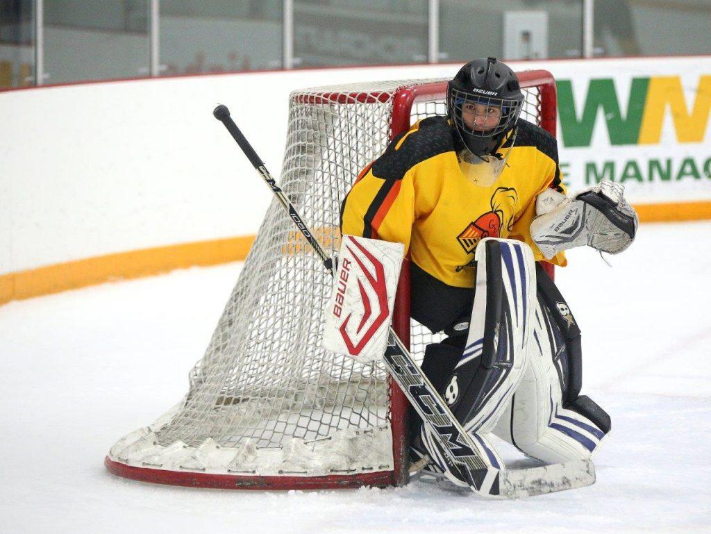 Gaa Returns To The Golden Knights Gaahockey Elite Ottawa Goalie