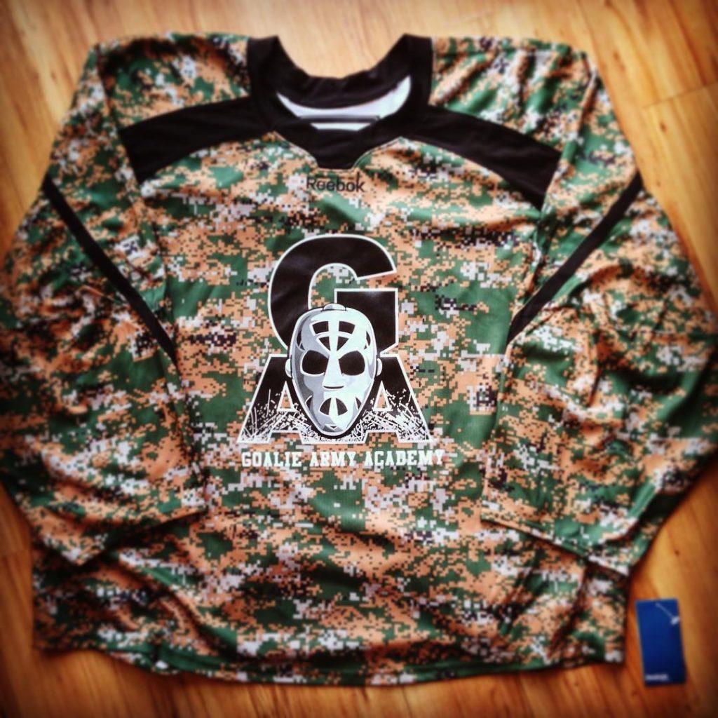 Goalie Army Academy Camo Jersey